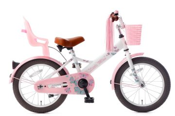 little miss 16 inch meisjesfiets wit