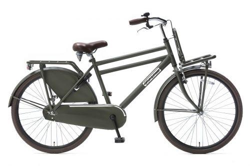 popal daily dutch 26 inch jongens transportfiets army groen