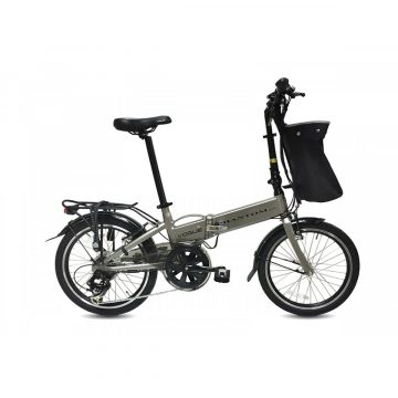 Vogue Phantom E-Bike vouwfiets 20 inch Grijs 1020114-1200x1200