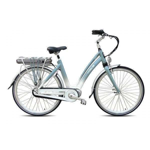 VOGUE Elektrische fiets CITY 28inch Ebikes polar blue NX8 Lady 50 cm