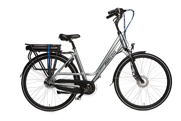AVALON-Ebike 28 inch Elektrische fiets ZILVER