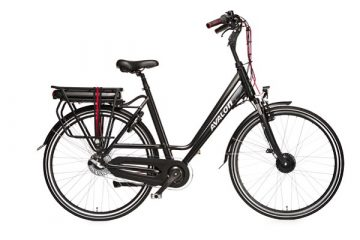 AVALON Elektrische fiets E-bike 28 inch-ELECTRIC-ZWART