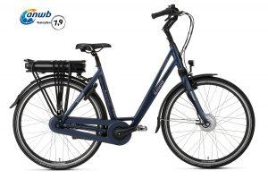 Popal E-Volution 5.0 Elektrische Damesfiets 28 inch Matt blue