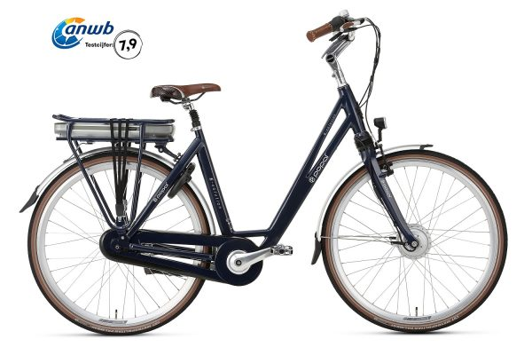 Popal E-Volution 5.0 Elektrische Damesfiets 28 inch steel blue