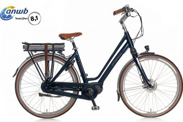 Popal E-Volution 8.1 Elektrische Damesfiets 28 inch Steel Blue
