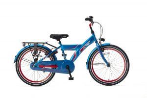Popal FunJet X Jongensfiets 22 inch blauw rood