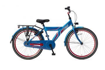 Popal FunJet X Jongensfiets 24 inch blauw rood
