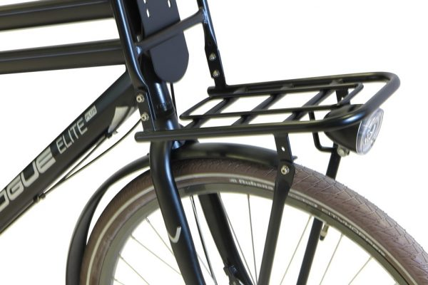 Vogue elite plus heren transportfiets mat Zwart