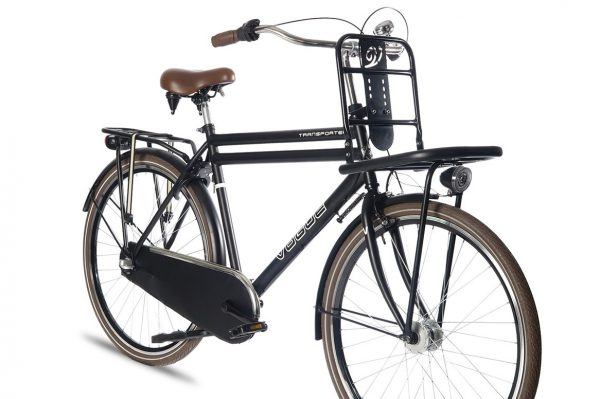 Vogue transporter heren transportfiets mat zwart