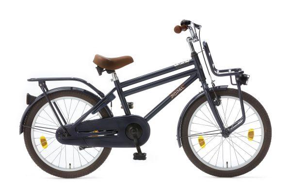popal cooper 20 inch jongens fiets donker blauw