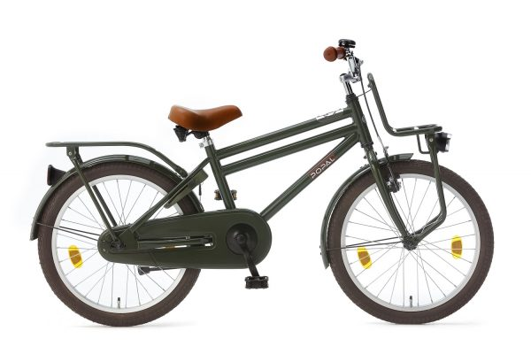 popal cooper 20 inch jongens fiets groen